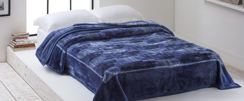 Cobertor Raschel